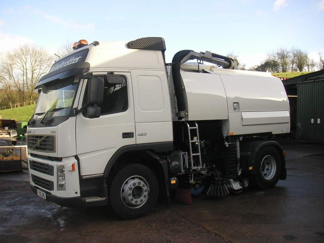 Used Vehicles Road Sweeper Parts Suitable For Johnston
